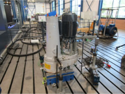 Inspection and repair of Jahnell Kesterman SVO125-3-125-130-GL