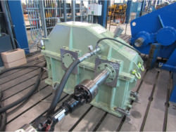 Inspection and repair on POMINI FARREL 9FC-MU gearbox