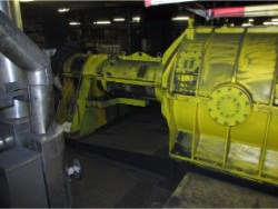 Inspection and repair of BUSS G-160 gearbox