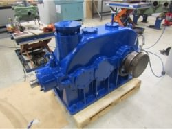 Inspection and repair of gearbox BIERENS K2A3-70