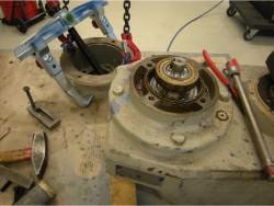 Eurodrive SEW FAF80 LP115 inspection and repair