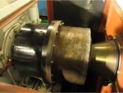 Inspection and repair on gearbox of Rhenania