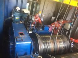 Caja de cambios Kumera Inspection and repair of damaged Kumera LD-3450-90-R-E1 gearbox