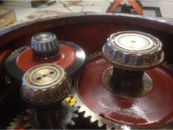Repair of HANSEN 634 T gearbox