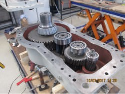 Repair and inspection on gearbox EKATO EKF-3V-280-660-KR