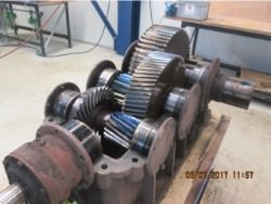 Inspection and repair of gearbox BIERENS K2-A3-60