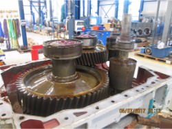 Repair of HANSEN NG56K-AN-71 gearbox