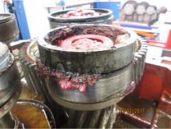 Repair of HANSEN NG56K-AN-71 gearbox