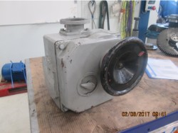 Inspection and repair on Siemens K7371-4 gearbox
