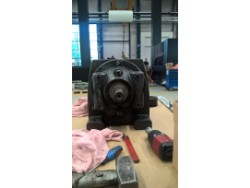 Inspection and repair on SEW R93WD-132ML4 gearbox
