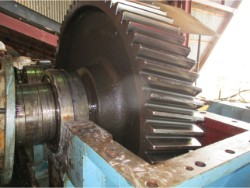 Inspection of various gearboxes at Sierra Leone