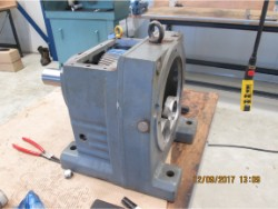Inspection and repair on SEW R97 AM160/II2GD gearbox