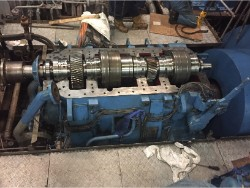 Inspection and repair on RENK HSUSL-1020 gearbox