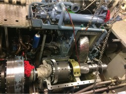 Inspection and repair on KELLER AN725 gearbox
