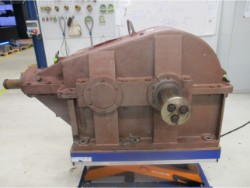 Inspection and repair on WGW KS 5,75 /S/So gearbox