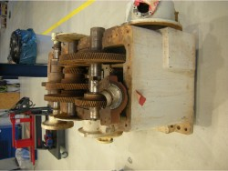 Inspection and repair on FLENDER GRAFFENSTADE AA 51 DA gearbox