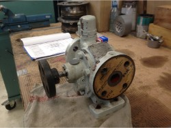 Inspection and repair on ITAYA GR CH204 gearbox