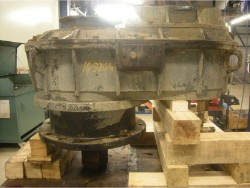 Inspection and repair on FLENDER SRVN 500 gearbox