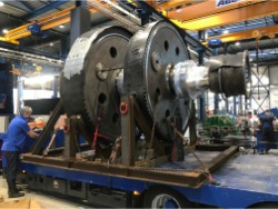 Inspection and repair on LOHMANN-STOLTERFOHT GJZ 1715 gearbox