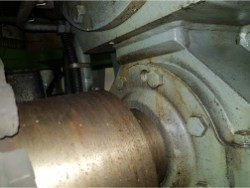 Inspection and repair on JAHNEL-KESTERMANN PGVC-630-435 gearbox