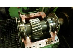 Inspection and repair on ASUG GVE 800x3,75-800x0,4 gearbox