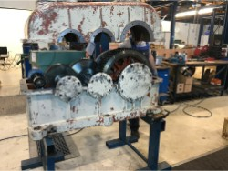 Inspection and repair on KISSLING TR-680 gearbox