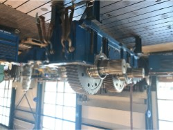 Inspection and repair on REXROTH GPV442.4 gearbox
