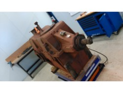 Inspection and repair on WGW KSHK 1330 S/So S/So gearbox