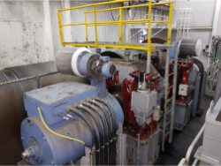 Inspection and repair on ZPMC FH1690.21.C1B-00 gearbox