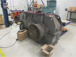 Inspection and repair on CMD 28H30CTR gearbox