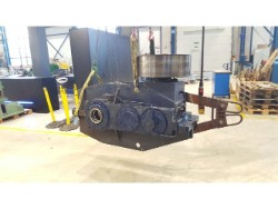 Inspection and repair on M.A.N. Katrijden gearbox