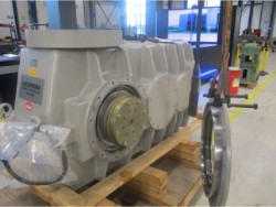 Inspection and repair on KUMERA TD-3500K R E1 gearbox