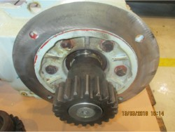 Inspection and repair on SEW gearbox