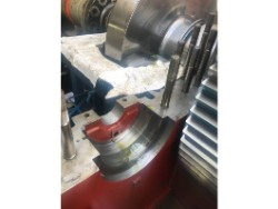 Inspection and repair on JAHNEL-KESTERMANN CD-2G3900 gearbox