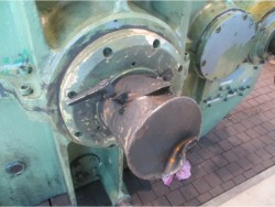 Inspection and repair on BUSS G-160 gearbox