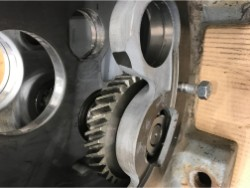 Inspection and repair on SEW R97-A-II2GD gearbox