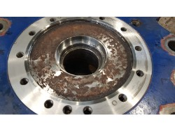 Inspection and repair on HITACHI MGRP-5016-VC gearbox