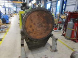 Inspection and repair on NIIGATA MGN4022V gearbox