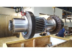 Inspection and repair on RENK HSU-1120 gearbox