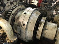 Inspection and repair on LOHMANN+STOLTERFOHT Pneumaflex gearbox