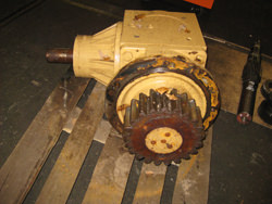 VOGEL LPF 5 S0 gearbox inspection