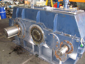 ZPMC gearbox inspection