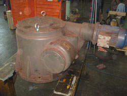 Repair of a BIERENS gearbox