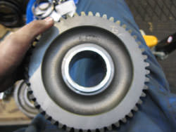 Repair of gearbox brand Kumera