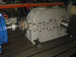 Inspection of a BIERENS gearbox