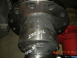 Repair of a BUSS gearbox