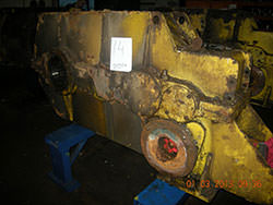 Repair of a CFEM gearbox