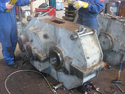 Inspection of a CFEM gearbox