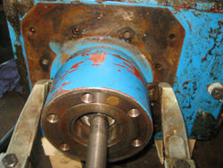 Chemineer gearbox repair