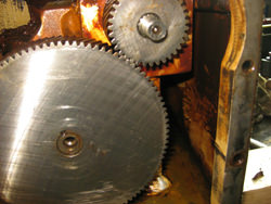 Chemineer gearbox inspection